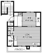 位于苫小牧市的Village House 糸井的平面图