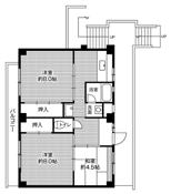 3DK floorplan of Village House Tsuda in Toyohashi-shi