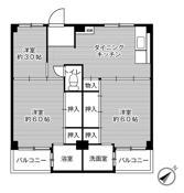 3DK ผังห้องของ Village House Fuseya ที่ Izumi-shi