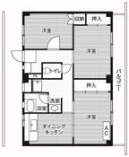 2LDK ผังห้องของ Village House Kuriyagawa ที่ Morioka-shi