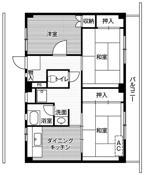 3DK floorplan of Village House Kamaishi in Kamaishi-shi