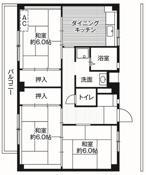 3DK ผังห้องของ Village House Akuwa ที่ Yokohama-shi