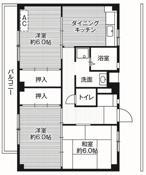 2LDK ผังห้องของ Village House Akuwa ที่ Yokohama-shi