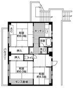 3DK floorplan of Village House Ooya in Saitama-shi