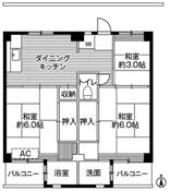 3DK floorplan of Village House Kobiki in Hachioji-shi