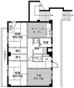3DK ผังห้องของ Village House Kameino ที่ Fujisawa-shi