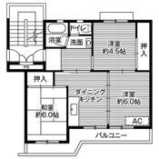 3DK floorplan of Village House Iizuka in Iizuka-shi