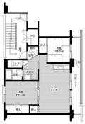2LDK floorplan of Village House Amagaya in Oyama-shi