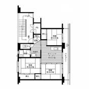 2LDK floorplan of Village House Hobara in Date-shi