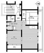 2LDK ผังห้องของ Village House Yuuki Dai 2 ที่ Yuki-shi