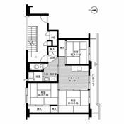 3DK floorplan of Village House Wakakusa in Akita-shi