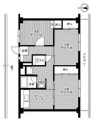 3DK ผังห้องของ Village House Miyoshi ที่ Miyoshi-shi