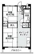 位于西東京市的Village House 向台 Tower的平面图